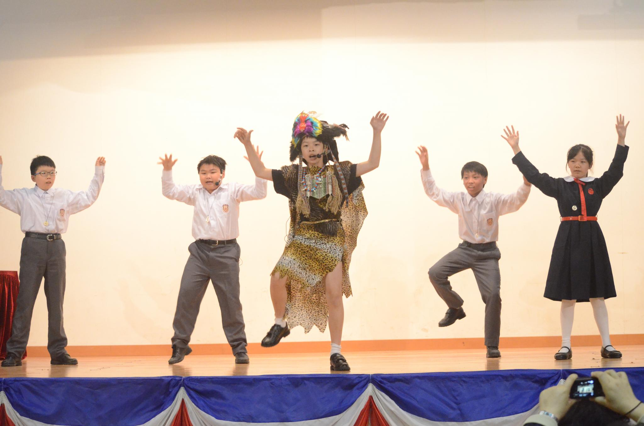 Brilliant performances from the students of the New Zealand Study Tour.