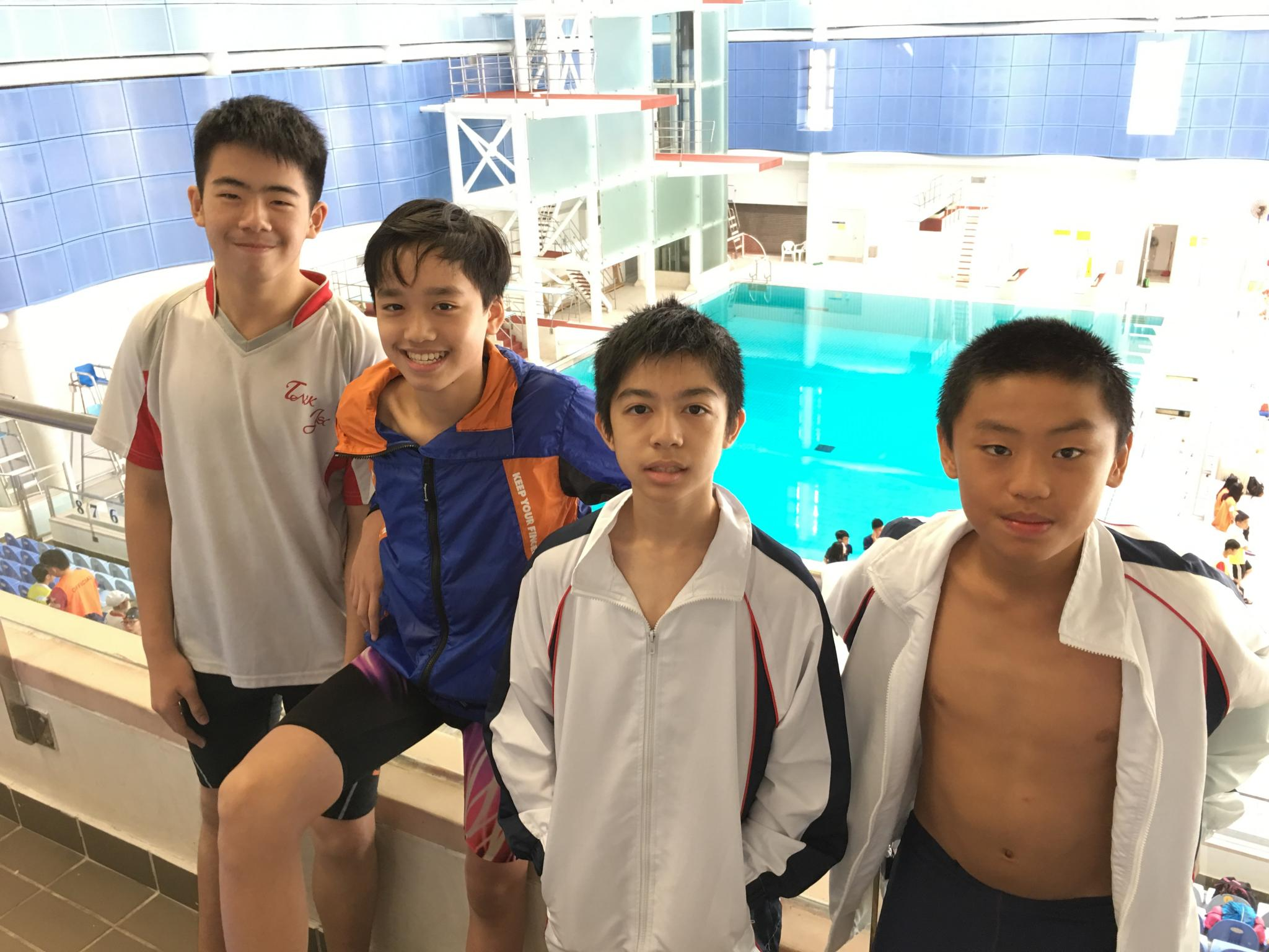 Inter school swimming competition 2016 2017 w tnkjsc Tong high school swimming pool