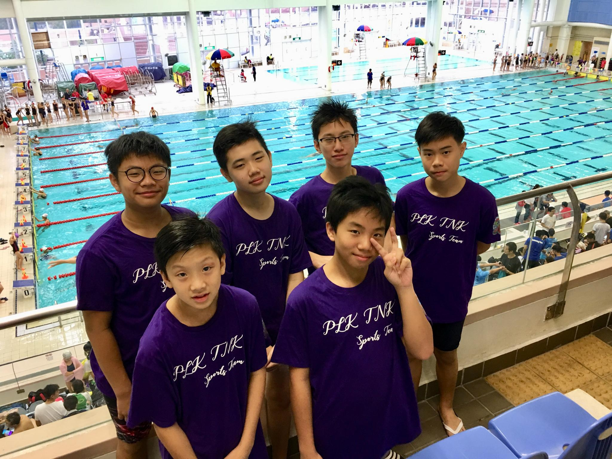 School events w tnkjsc Tong high school swimming pool