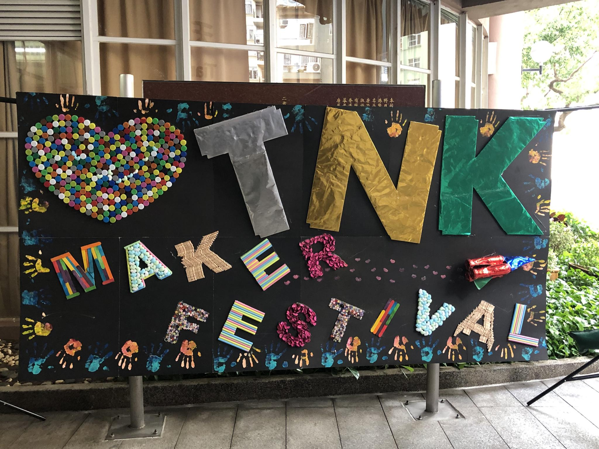 This fantastic board was made by our Student Union Committee.
